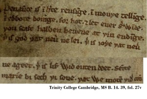 Trinity College Cambridge, MS B.14.39, fol.27v