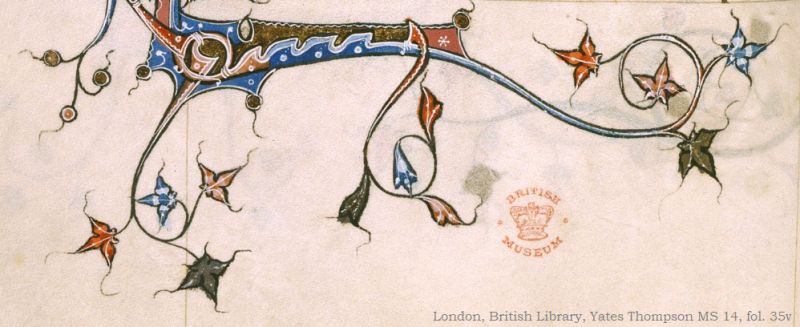 London, British Library, Yates Thompson MS 14, fol. 35v