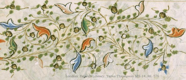 London, British Library, Yates Thompson MS 14, fol. 57r